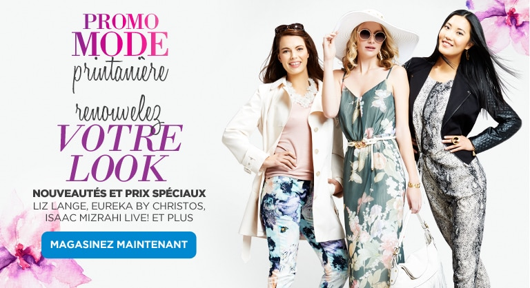 Spring Fashion at The Shopping Channel