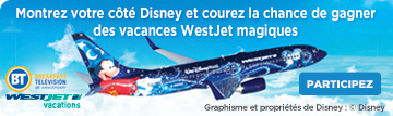 BT/Disney/WestJet Promotion