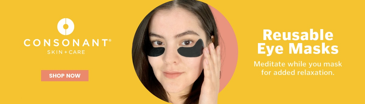 Consonant Skincare Reusable Eye Masks