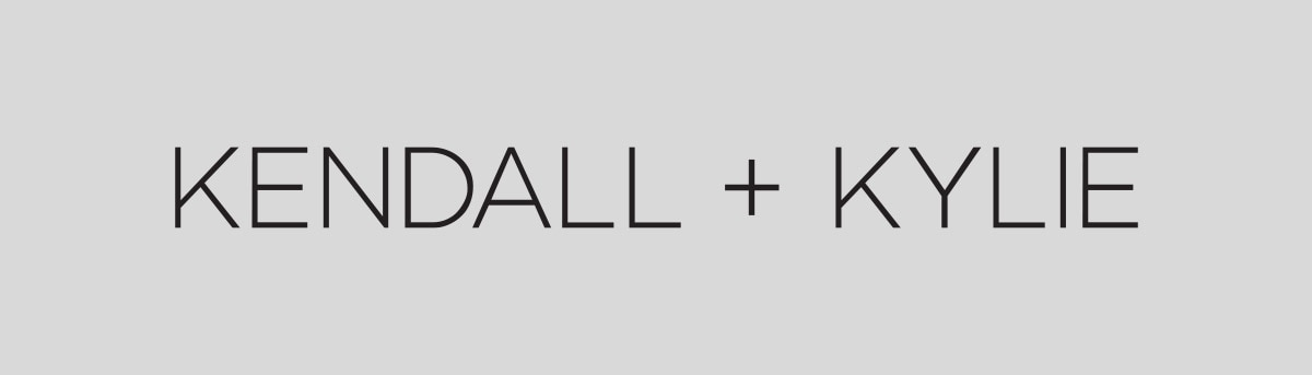 kendall and kylie brand header