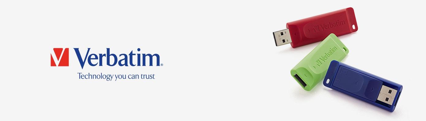 Verbatim brand header