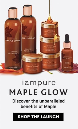 iampure Maple Glow - New Launch