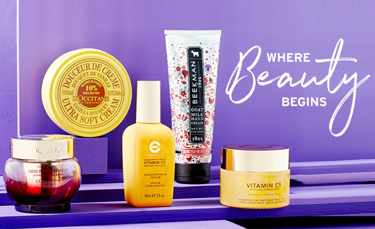 Where Beauty Begins - New Arrivals