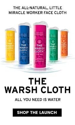 The Warsh Cloth - New launch