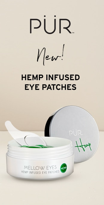 new hemp infused eye patches