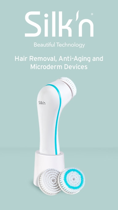silkn hair removal, anti-aging and microderm devices