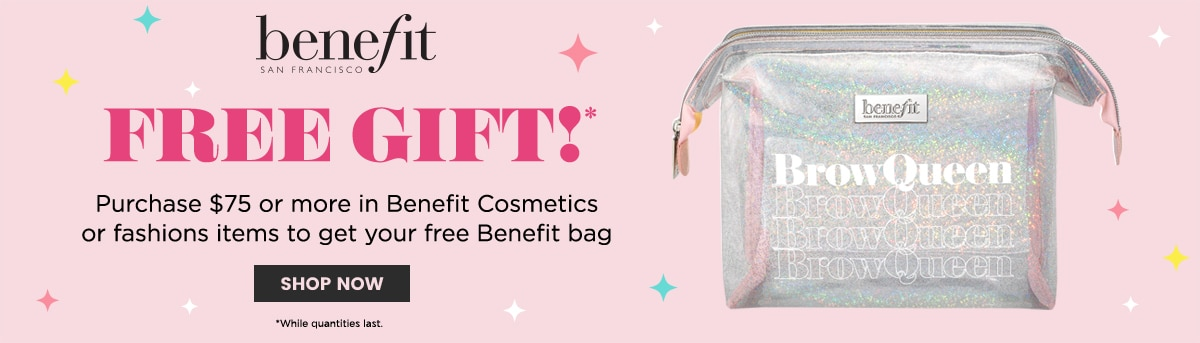 BENEFIT GIFT WITH PURCHASE OFFER