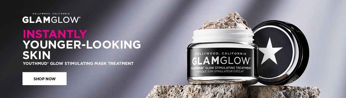GLAMGLOW INSTANTLY YOUNGER LOOKING SKIN WITH YOUTHMUD