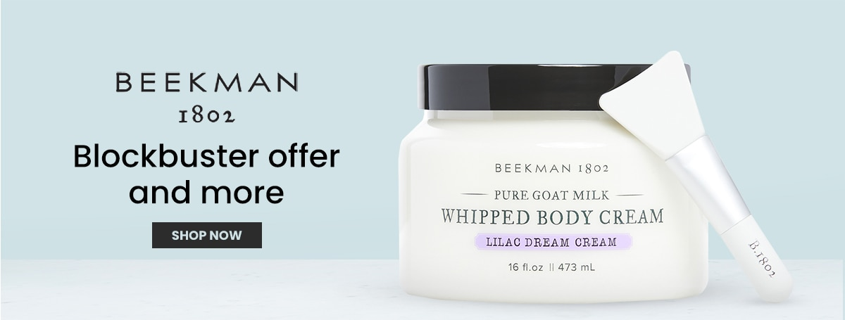New from Beekman 1802