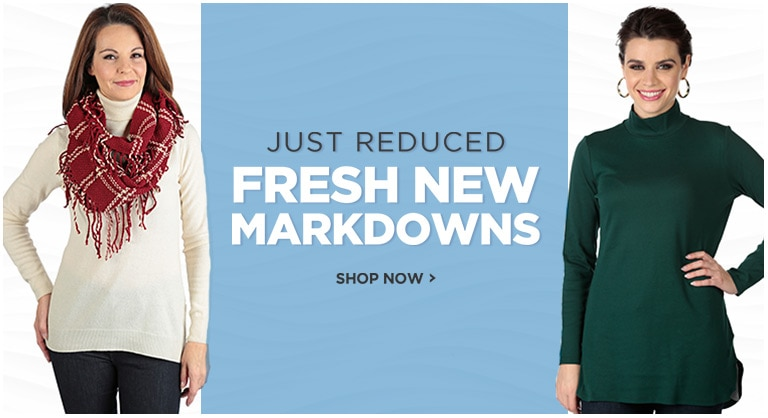 JUST REDUCED - Save with New Markdowns
