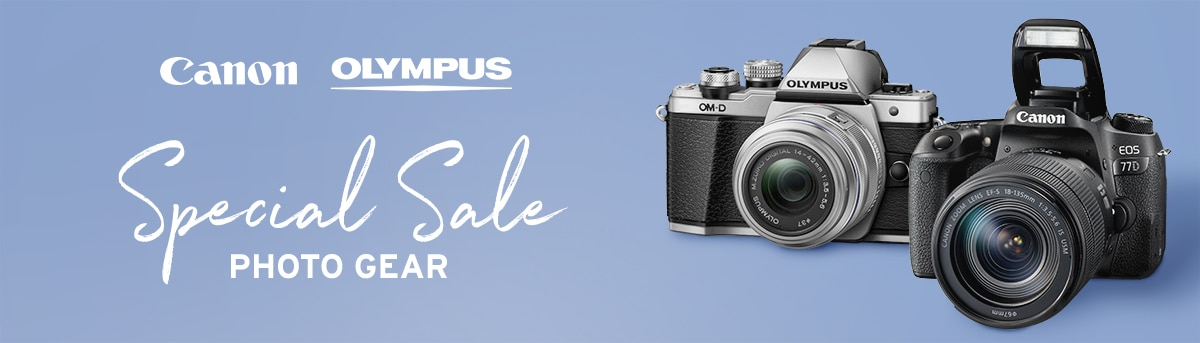 Canon Olympus Special Sale