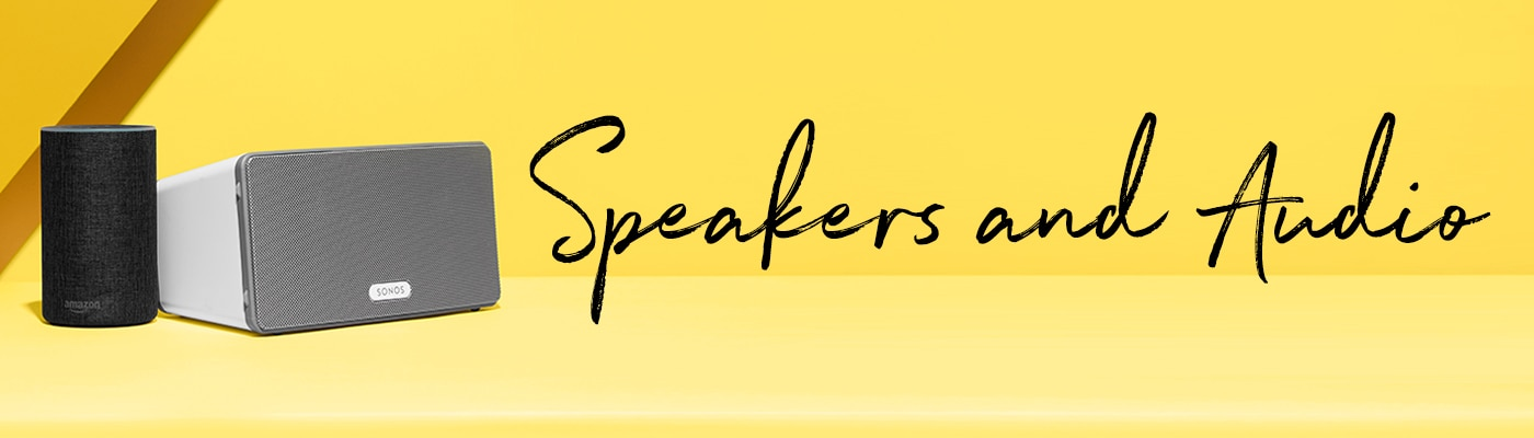 Speakers & Audio Header