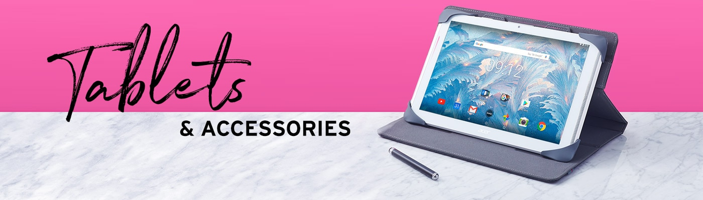 Tablets & Accessories Header