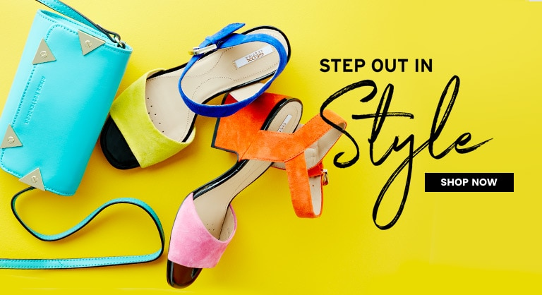 Step Out in Style - New Arrivals
