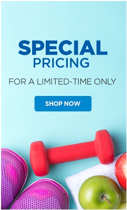 Speacial Pricing for a Limited-Time Only