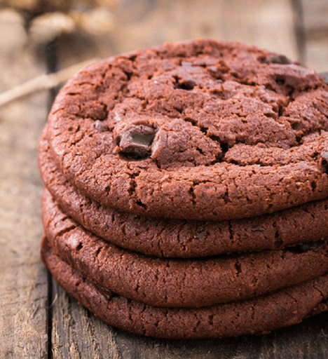 Keto Zone Double Chocolate Cookies