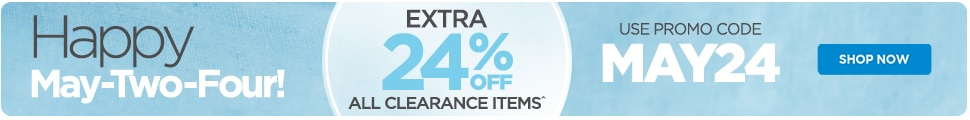 Extra 24% Off Clearance