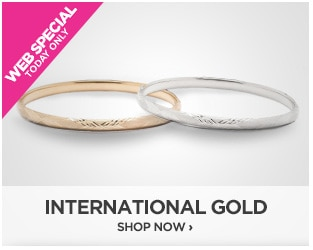 Webstopper: International Gold Bangle