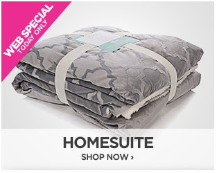 Webstopper: Homesuite 2pack Mink Throw with Sherpa Back