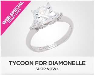 Webstopper: TYCOON for Diamonelle Ring