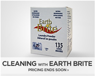 Cleaning With Earth Brite