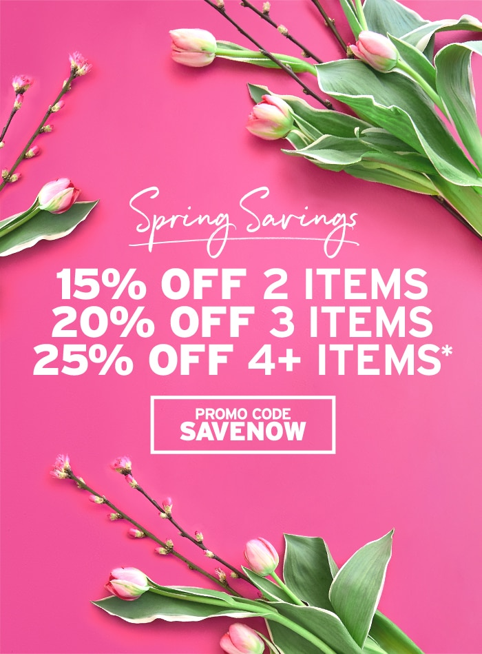 Spring Savings: Buy More Save More