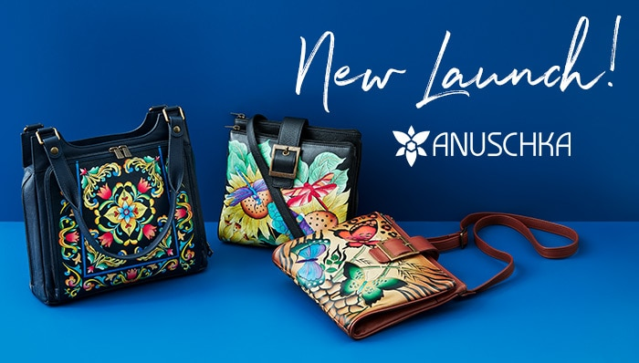 New Launch! Anuschka ft. Clutch Wallet