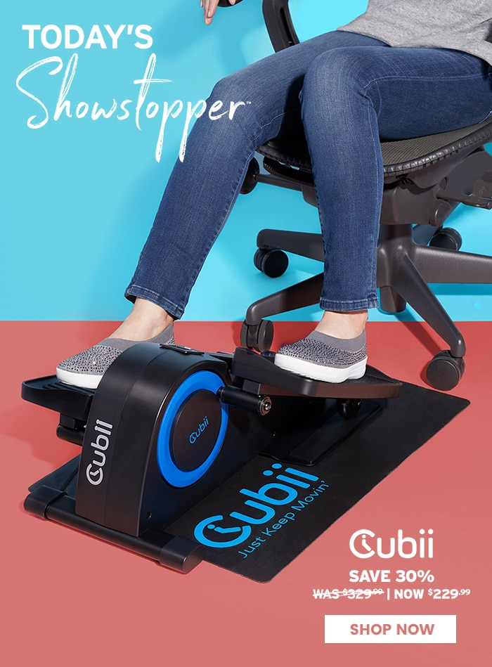 TODAY'S SHOWSTOPPER™ - Cubii Jr.
