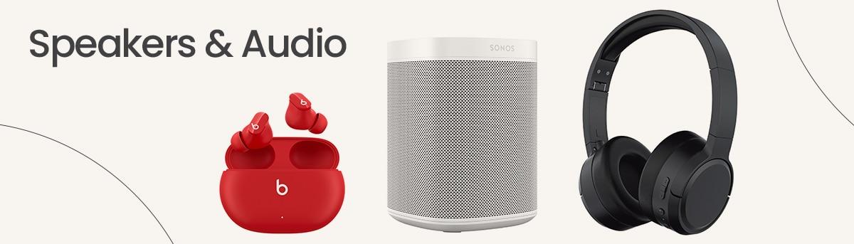 Speakers & Audio Header