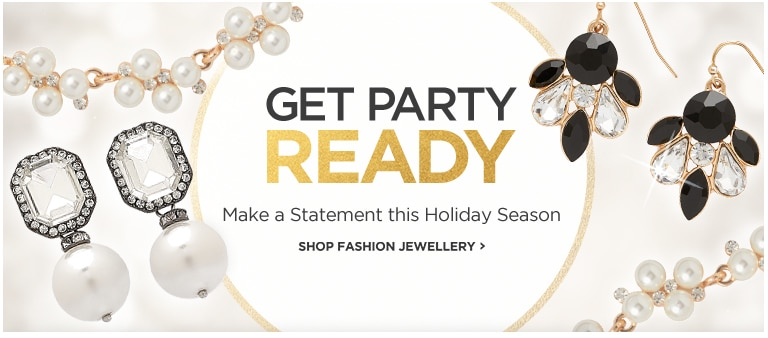 GET PARTY READY - Make a Statement this Holiday Season