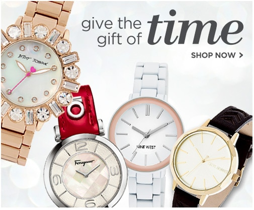 Watches - Give the gift of time