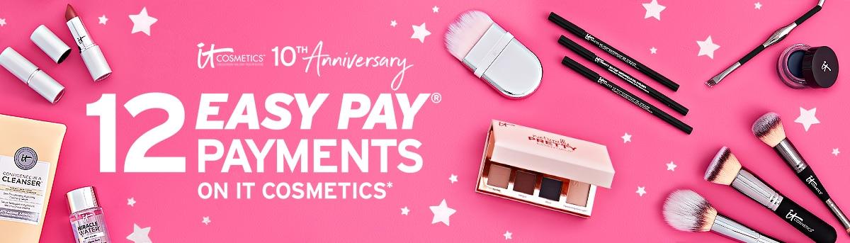 IT Cosmetics 10th Anniversary header
