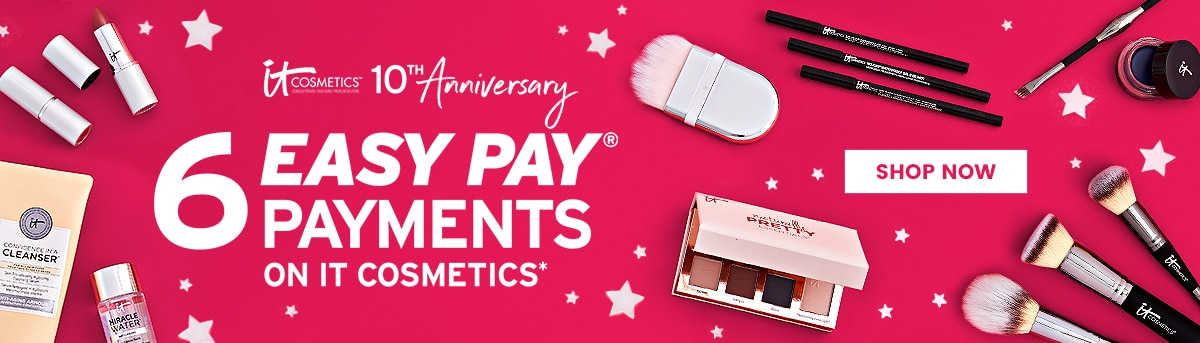 6 easy pay payments it cosmetics