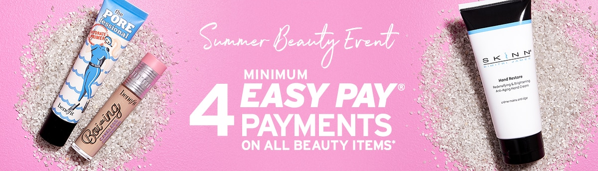 Summer Beauty Easy Pay Payments
