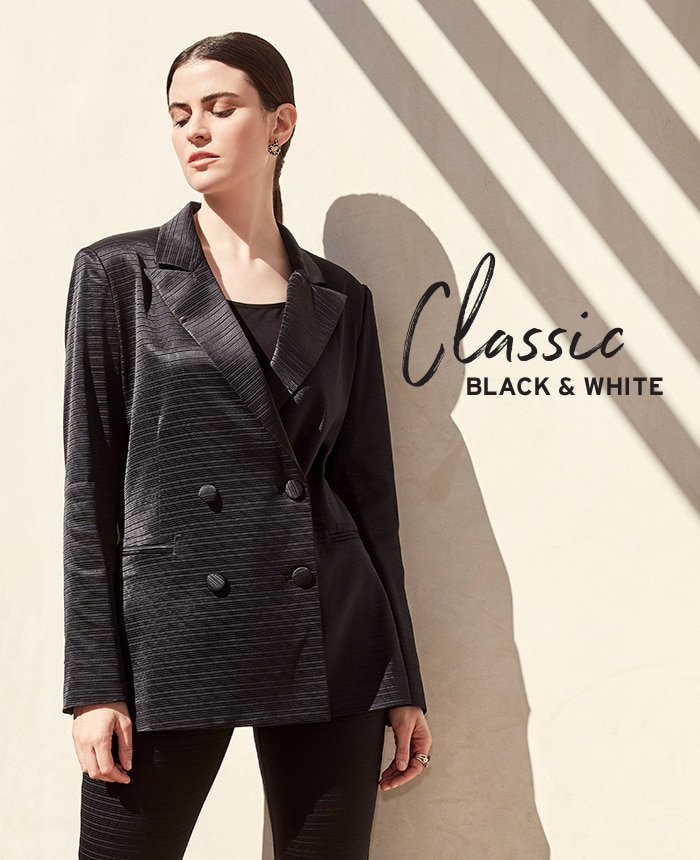 Spring Fashion - Get The Look - Classic Black & White