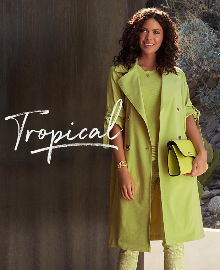 Spring Fashion - Get The Look - Tropical