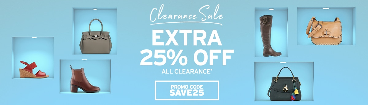Clearance Sale SAVE25