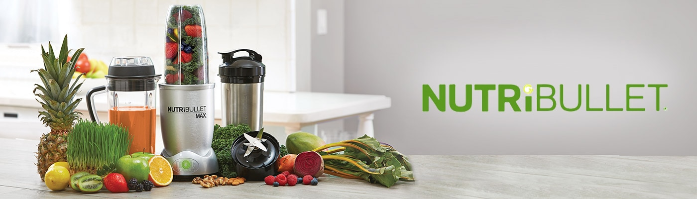 NutriBullet brand header