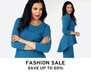 FASHION SALE Save up to 60%