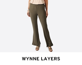 Wynne Layers ft. Matte Jersey Easy Flare Pant