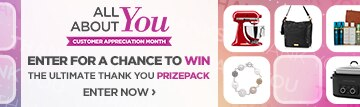 All About You Contest - Customer Appreciation Month